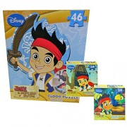 Jake and the Neverland Pirates Giant Floor Puzzle with 2 Lenticular Puzzles Bonus