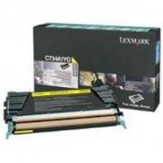 Toner Lexmark 71B50Y0 yellow, CX317dn/CX417de/CS317dn/CS417dn, 2300str