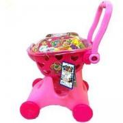Детска количка за пазаруване с продукти, 506115549