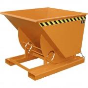 Kompakt-Kippbehälter Volumen 0,75 m³ gelborange