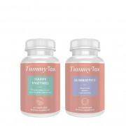 TummyTox Happy Enzymes + Slimbiotics. für eine bessere Verdauung, 60 Kapseln