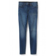 Lands' End Shaping Jeans, Skinny Fit High Waist in Petite-Größe - Blau - 42 28 von Lands' End