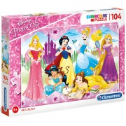 Puzzle Printesele Disney Clementoni 104 piese