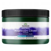 Swanson Citrát Magnézium 100% Pudr 244 g