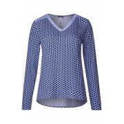 STREET ONE Shirt met printmix - deep blue
