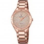 Reloj F16922/4 Dorado Festina Mujer Boyfriend Collection Festina