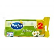 Hartie igienica Perfex de luxe musetel 3 straturi 8+2/set