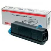 Тонер касета за OKI C 5100/5200/5300/5400 - Cyan - 42127407