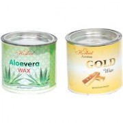 Aloe Vera Wax And Aroma Gold Wax (pack Of 2)