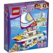 Конструктор ЛЕГО ФРЕНДС - Слънчев катамаран, LEGO Friends, 41317