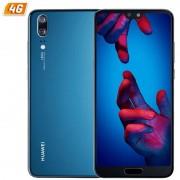 SMARTPHONE HUAWEI P20 DS BLUE - 5.8'/14.7CM - CÁMARA (20+12)MP/24MP - OC KIRIN 970 - 128GB - 4GB RAM - DUAL SIM - ANDROID 8.1 - 4G - BAT3400MAH