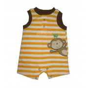 Costumas bebe Striped Yellow