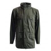 Rains Regenjassen Four Pocket Jacket Groen