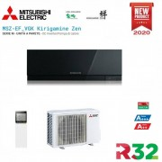 Mitsubishi Electric Inverter Kirigamine Zen Msz-Ef35ve3b Black 12000 Btu