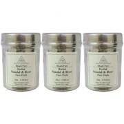 Khadi Pure Herbal Sandal Rose Face Pack - 50g (Set of 3)