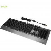 Delux KM02 RGB Versión Teclado mecánico Teclado con cable USB Plug and Play