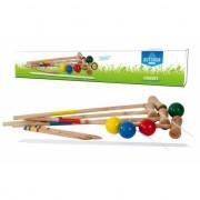 Outdoor croquet spel voor kinderen
