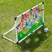 Set Joc de Fotbal pentru Copii cu Poarta cu Plasa si Minge, Dimensiune Poarta 119x71x56cm