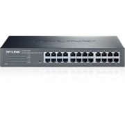 Суич TP-LINK Easy Smart TL-SG1024DE, 24 Port 1000Mbps, Managed
