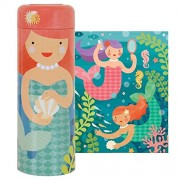 Petit Collage Playful Mermaids 64 Piece Tin Puzzle
