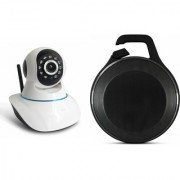 Zemini Wifi CCTV Camera and Clip Bluetooth Speaker for SAMSUNG GALAXY GRAND PRIME(Wifi CCTV Camera with night vision |Clip Bluetooth Speaker)