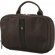 Victorinox Lifestyle Accessories 4.0 Slimline Bi-Fold Essentials Travel Toiletry Kit(Black)