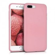 kwmobile Pouzdro pro Apple iPhone 7 Plus / 8 Plus - matná růžová