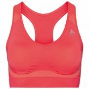 Odlo Women`s Sports Bra Seamless High Reggiseno sportivo (S, rosso)