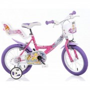 """Dino Bikes Niñas 16"""" Multicolor Bicicletta Bicicleta Propenso 40,6 Cm 16"""" Multic"""