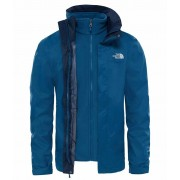 The North Face Mens Evolve II Triclimate Jacket Monterey Blue The North Face Skaljacka Herr