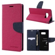 Mercury Pouzdro / kryt pro Samsung Galaxy S8 PLUS - Mercury, Fancy Diary Hotpink/Navy