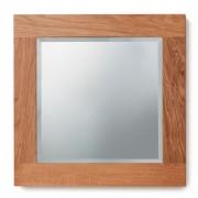 Baumhaus Mobel Oak Mobel Oak Bathroom Collection Solid Oak Mirror Small