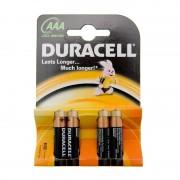 Set 4 baterii alcaline Duracell AAA