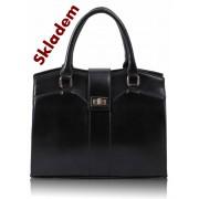 Kabelka LS0055A - Black Fashion Tote Handbag