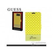 Cg Mobile Guess Gianina stojeća kožna futrola za Samsung GT-I9500/9505 Galaxy S IV. ,žuta (GUFLBKS4PEY)