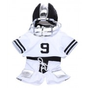 """Football Outfit Teddy Bear Clothes Fit 14"""" - 18"""" Build-A-Bear, Vermont Teddy Bears, and Make Your Ow"""