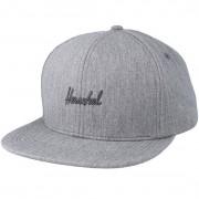 Herschel Keps Austin Heather Grey Snapback - Herschel - Grå Snapback