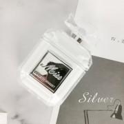 Parfümös üveg formájú szilikon AirPods tartó - Csak tok, Ezüst
