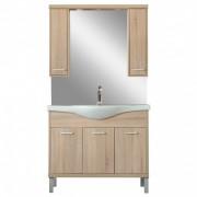 Nerva 105 komplett fürdőszobabútor, Sonoma tölgy