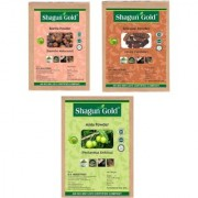 100 Combo Set Of Amla Shikakai Reetha Powder Pack Of 3 200Gm Permanent Hair Color