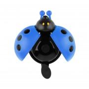 EH Precioso Kid Escarabajo Mariquita Anillo Bell Para Bicicleta De Ciclo Bike Ride Cuerno De Alarma Azul