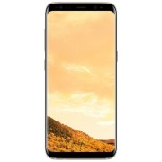 "Telefon Mobil Samsung Galaxy S8 Plus G955FD, Procesor Octa-Core 2.3GHz / 1.7GHz, Super AMOLED Capacitive touchscreen 6.2"", 4GB RAM, 64GB Flash, 12MP, 4G, Wi-Fi, Dual Sim, Android (Maple Gold) + Cartela SIM Orange PrePay, 6 euro credit, 6 GB internet 4G, 2"