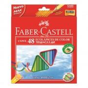 Creioane colorate triunghiulare 48 buc/set FABER-CASTELL
