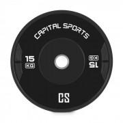 Capital_sports Elongate Bumper Plate Viktskiva Gummi 15kg