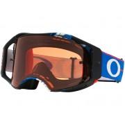 Oakley Airbreak BlockPass RWB MX Gafas protectoras Negro/Azul