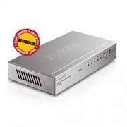 Switch Zyxel ES-108A, 8-port 10/100Mbps Ethernet switch, 3x Qos (!), desktop