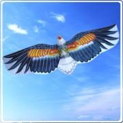 3D American Bald Eagle Kite Flying Toy & Hobby Outdoor Park Beach Fun Garden Farm Defense Bird Scari