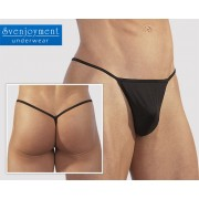 Svenjoyment Mini G String Underwear Black 2110962