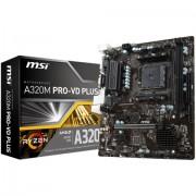 MB, MSI A320M PRO-VD PLUS /AMD A320/ DDR4/ AM4