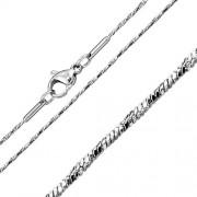 Silvego Jemný ocelový řetízek hádek diamond twist 1mm - RRCN0109